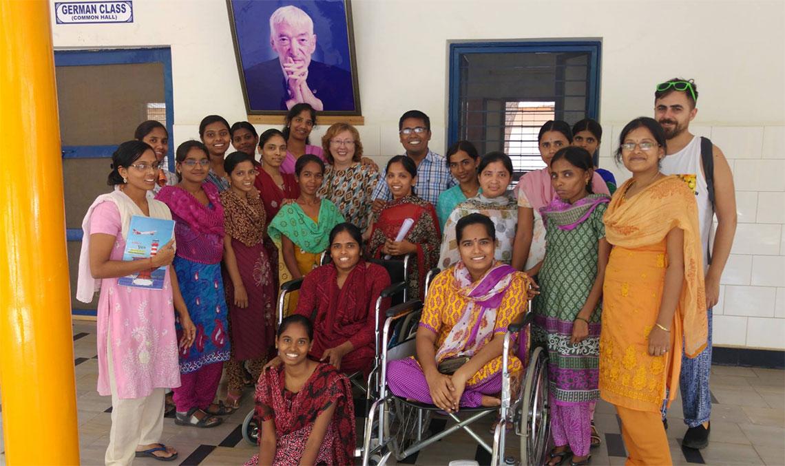 Pilar Moya Fundacion DKV Integralia India