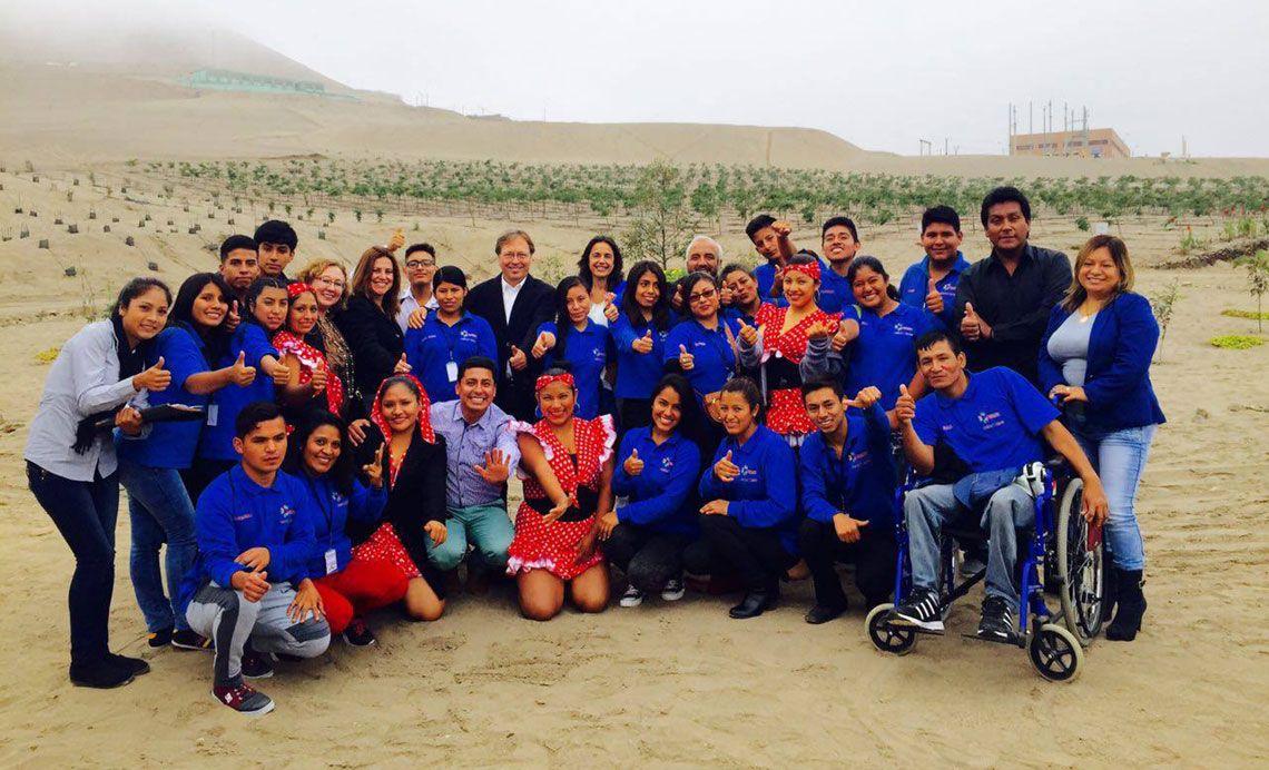 DKV Integralia proyecto internacional Grupo Pachacutec 2016