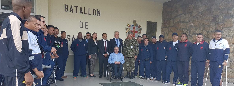 Colombia-Integra visita Embajador de España