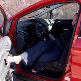 David Rivas conductor sin brazos Integralia