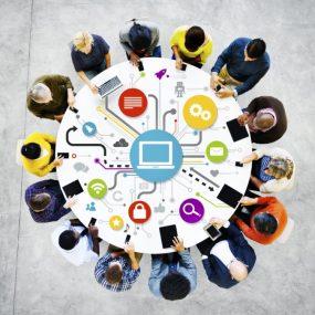 Servicios de comunicación interna