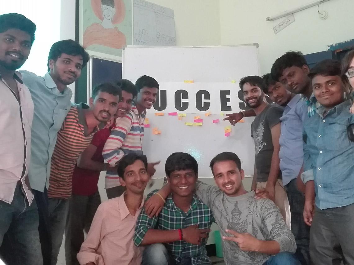 Curso en India Escuela Idiomas chicos