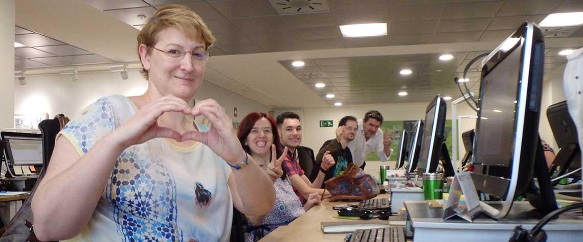 Equipo de Marketing digital en Zaragoza