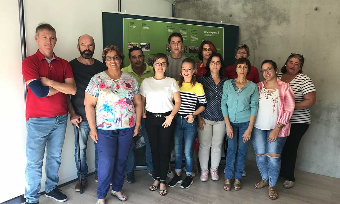 Foto de grupo Escuela Badajoz