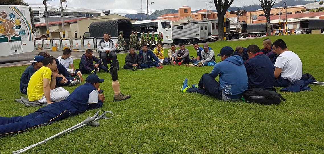 Beneficiarios en Colombia