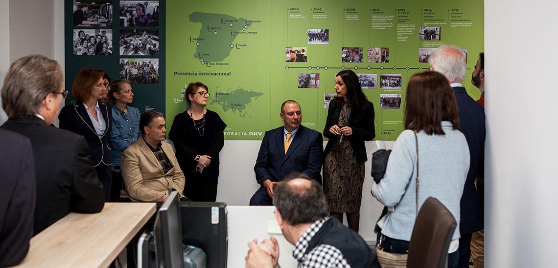 Presentación en la Fundación Integralia