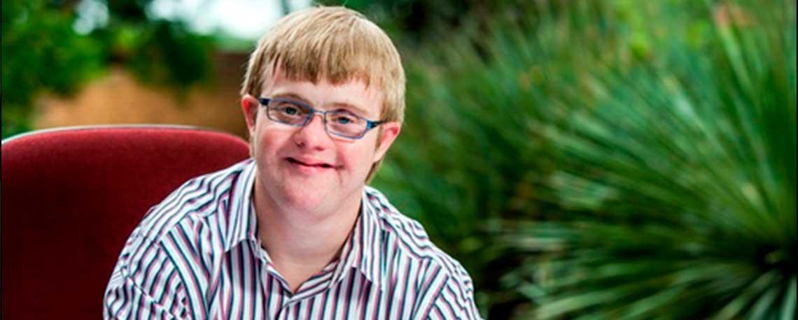 Persona con Síndrome de Down