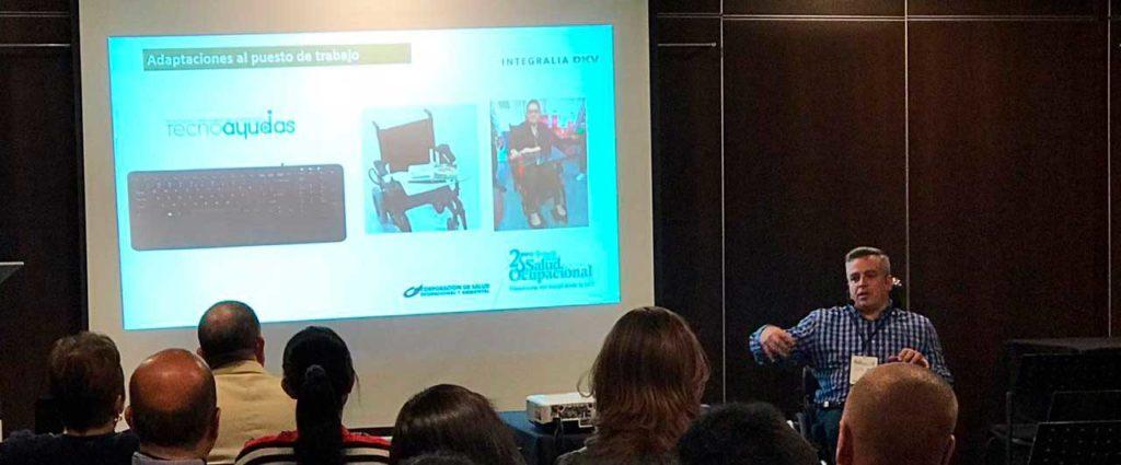 Sensibilización y discapacidad en Colombia