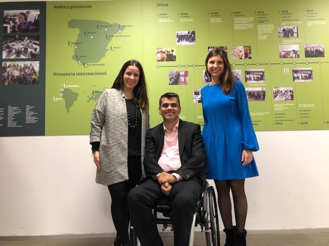 acuerdo con catenon para inserción laboral de personas con discapacidad