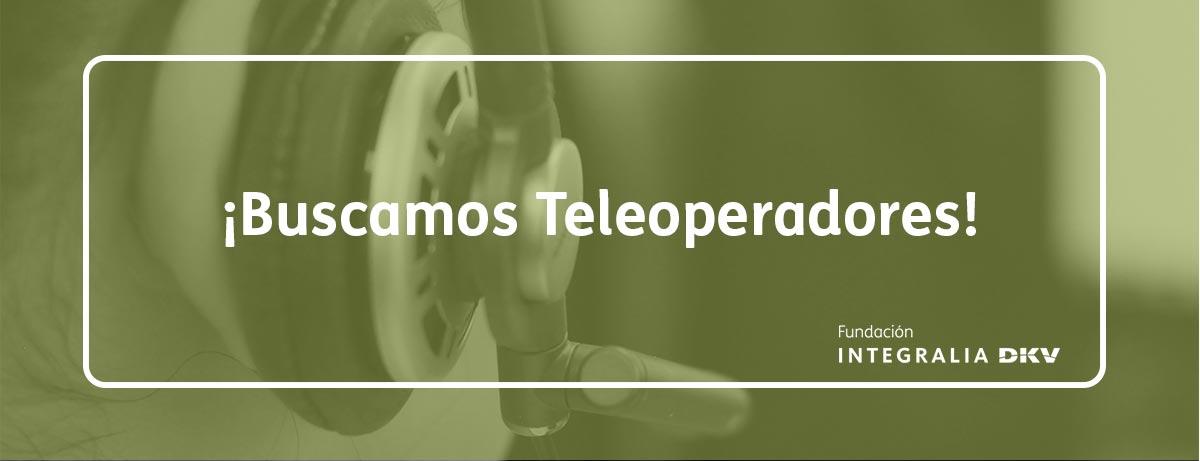 Buscamos teleoperadores