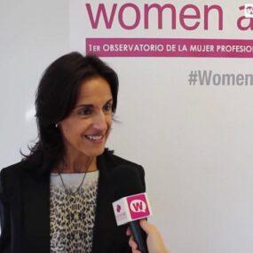 Cristina González, en el desayuno Women at Recursos humanos