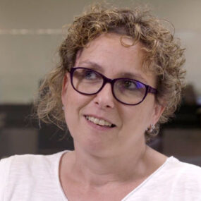 Eva Arroyo del call center Integralia en Barcelona