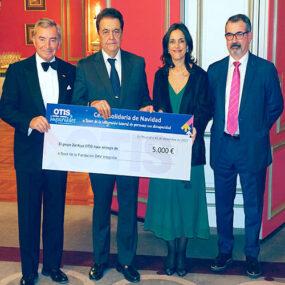 La Fundación Integralia recibe el apoyo OTIS