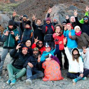 Gema Hasse-Bey logra el reto de ascender al Teide