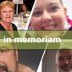 Homenaje al fallecimiento de compañeros