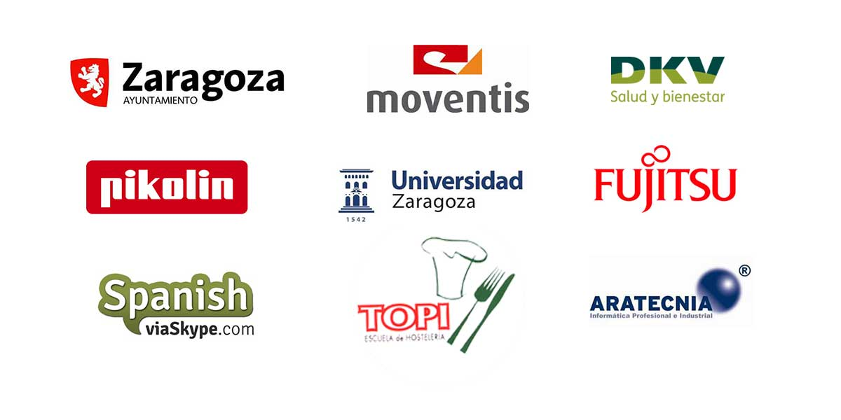 Logos clientes marketing digital