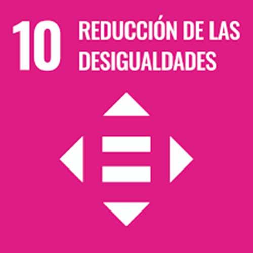 Objetivo de Desarrollo Sostenible reducción de las desigualdades