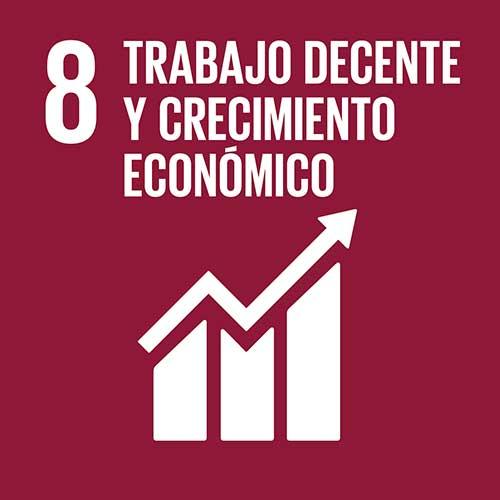 Objetivo de Desarrollo Sostenible crecimiento económico y trabajo decente