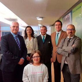 Visita de Antonio Garamendi a DKV Integralia