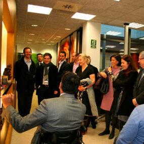 Visita del comité de Axa Assistence a DKV Integralia El Prat