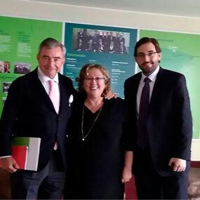 Visita del presidente de DKV Seguros al proyecto DKV Integralia en Perú